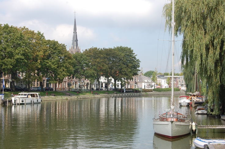 The Vecht a famous river