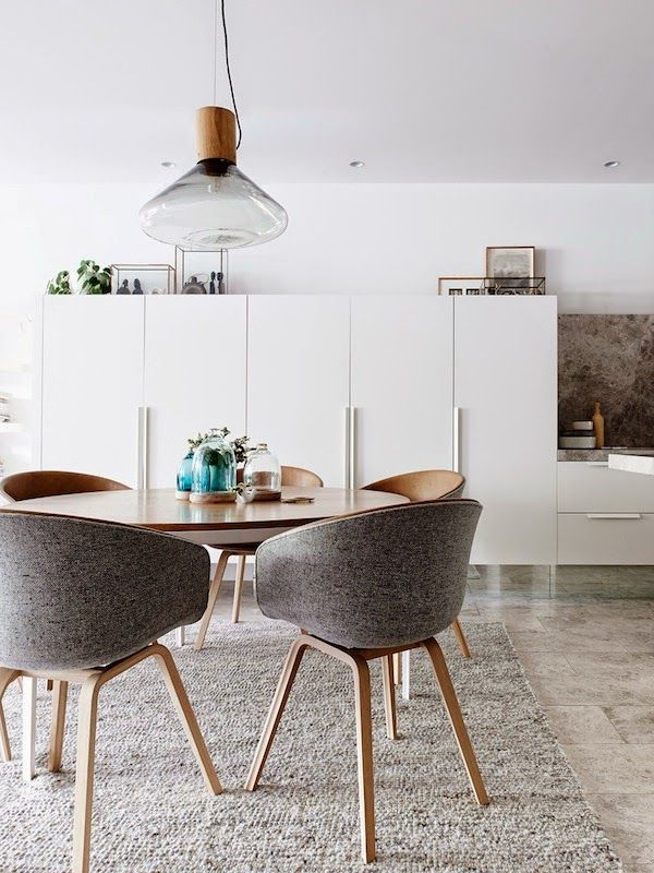 Kitchen in a Scandinavian inspired Melbourne home--Photo by Eve Wilson.