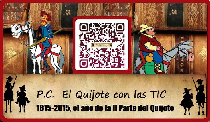 P. C. El Quijote y Cervantes con las TIC