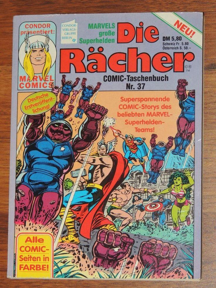 Marvel Comic Taschenbuch #37 Die Rächer (Condor Verlag)