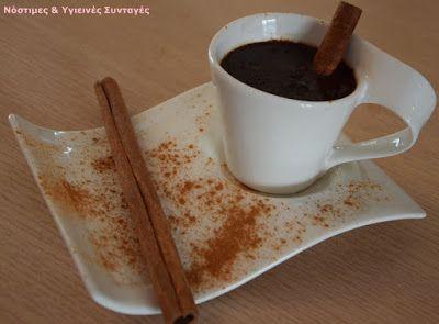 Νόστιμες κ Υγιεινές Συνταγές: Ρόφημα σοκολάτας με γάλα καρύδας και κανέλα
