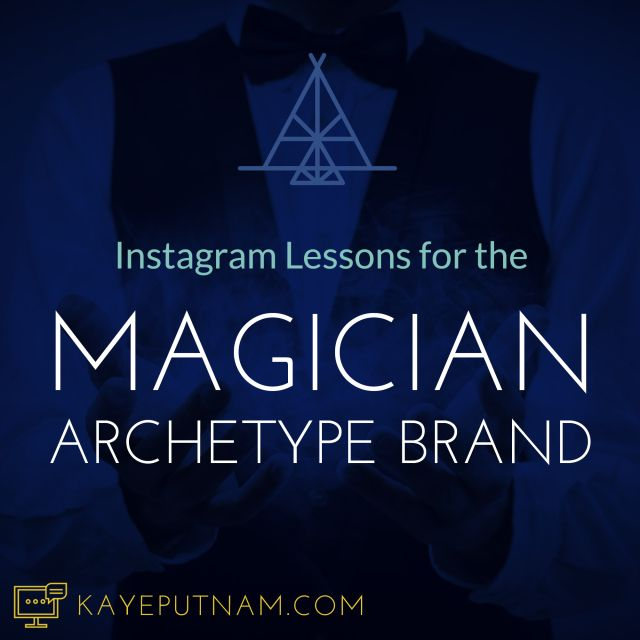 See what the best Magician Archetype brands are doing on Instagram to show their brand message and attract ideal clients.