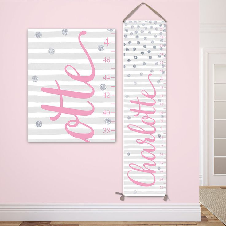 Best Girl Growth Chart Images On   Custom Canvas