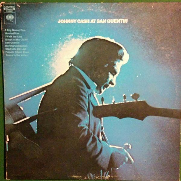 Johnny Cash - Johnny Cash At San Quentin (Vinyl, LP, Album) at Discogs