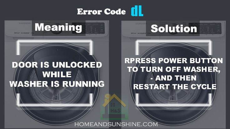Pin By Mariya M On Samsung Washing Machine Error Code Samsung Washing Machine Washing Machine Samsung Washer