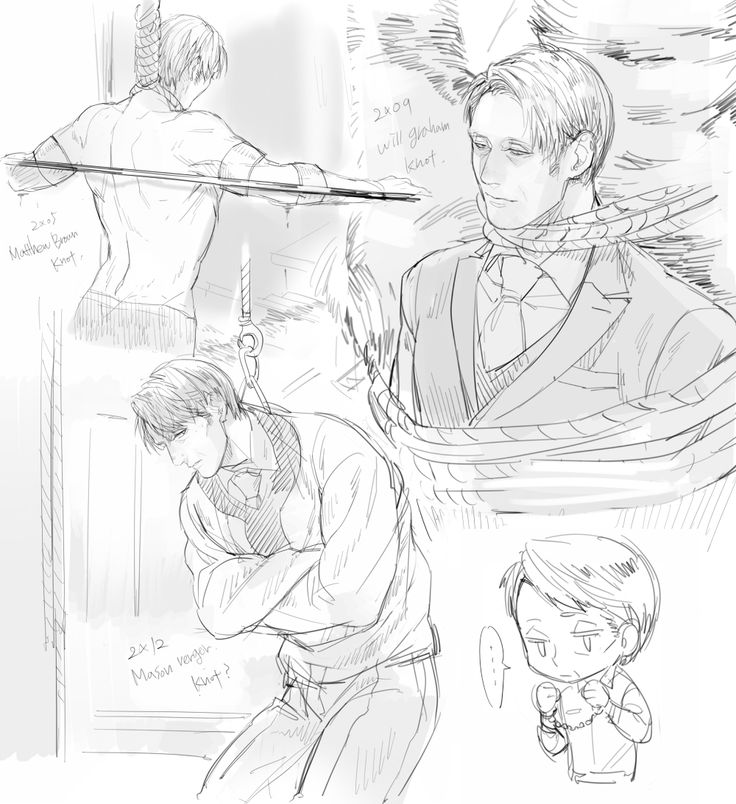 http://www.pixiv.net/member.php?id=4409310 // When Will tied Hannibal to the tree to kill him - that's a call-back to canon. Hannibal's very first murder was committed that way (with a horse instead of a Nightmare Stag, of course).