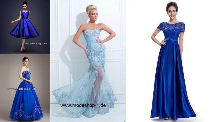 Abendkleider Blau