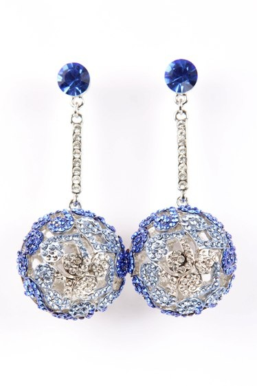 Ocean Blue Bauble Earrings