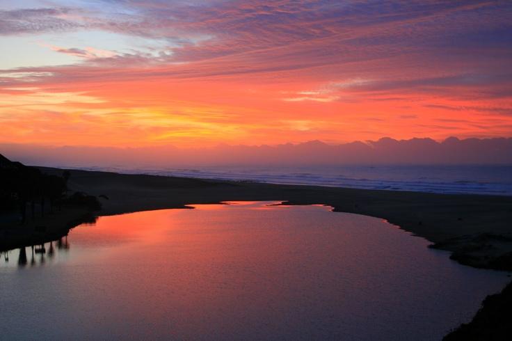 Kleinemonde sunset, South Africa