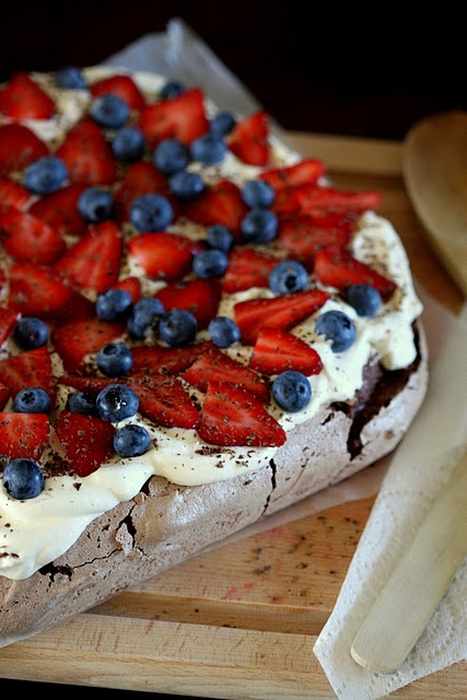 Chocolate Pav. Never tried it but anything with chocolate is worth a ...