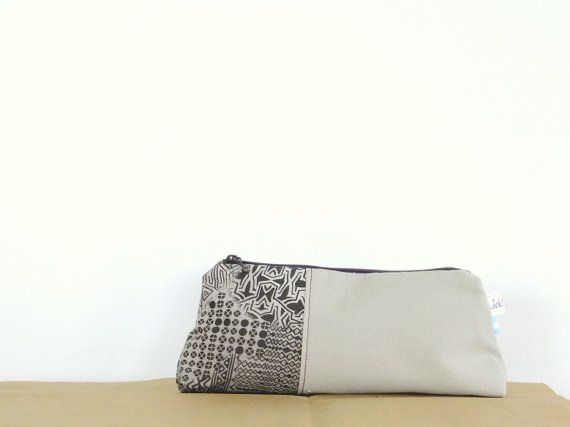Pencils case / Pencil pouch / Cosmetic pouch / by LiduvinaDesign, $20.00