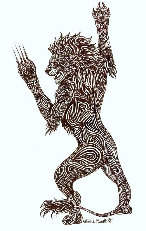 23 best Tribal Lion Tattoo images on Pinterest   Tribal ...