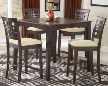 Kitchen: Dining Room, Hillsdale Tiburon, Tiburon Counter, Espresso Finish, Height Dining, Kitchen, Dining Sets, Dining Tables, Counter Height