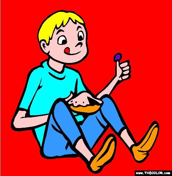 littlejackhornercoloringpage