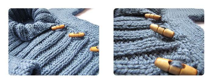 chaqueta bebe DIY 2 Cómo hacer una chaqueta de bebé a dos agujas  DIY