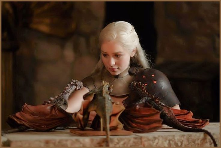 who plays the mother of dragons on game of thrones