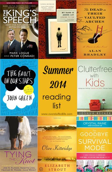 Summer is here and it's time to READ! Preferably on the beach. These are a few books I am looking forward to reading this summer.