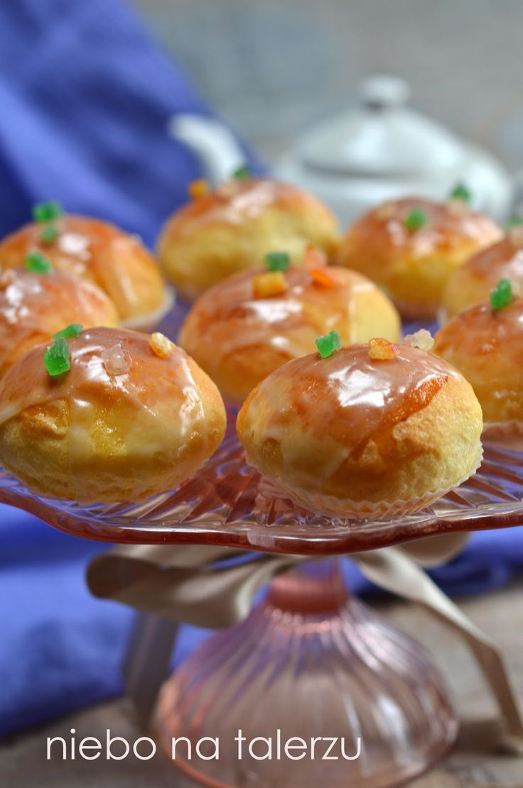 niebo na talerzu: Puszyste, pieczone pączki z białą czekoladą. Blog Roku 2014