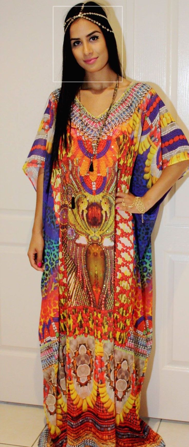 www.kFtanallure.com Designer look tribal kaftans