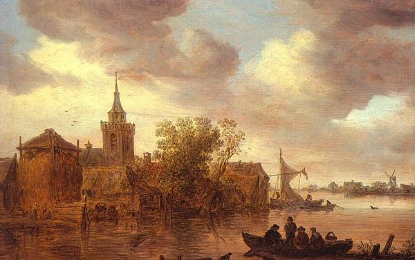 The amazing landscape paintings of Jan van Goyen