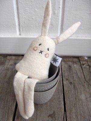 sewing idea: soft rabbit