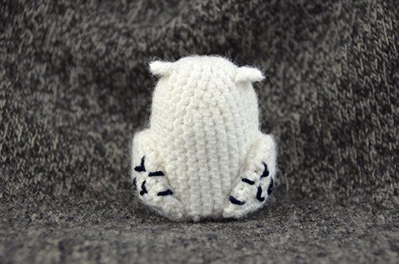 Snowy Owl Crochet-Along! - YouTube | 377x570
