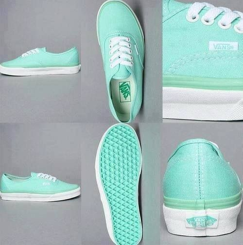teal shoes: Vans 3, Fashion, Mint Vans, Style, Mint Green Vans, Clothing, Shoess, Tiffany Blue Vans, Colors