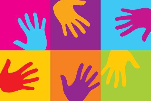 Pop art - hands
