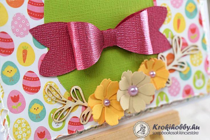 Áldott Húsvétot! Szép szöveges chipboardokat találhattok webáruházunkban.  Most az Áldott Húsvétot! feirattal készítettünk képeslapokat.  Lássuk a végeredményt.