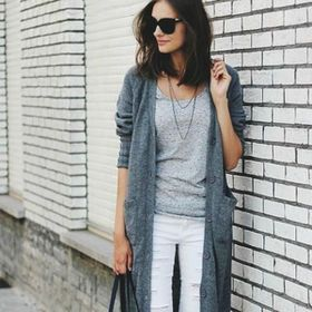 Minimal grey and white