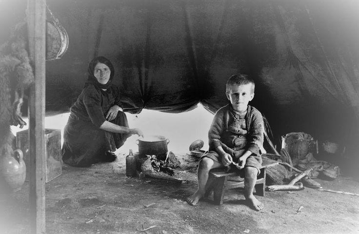 David Seymoyr Καταυλισμός προσφύγων στα Γιάννινα (1948)