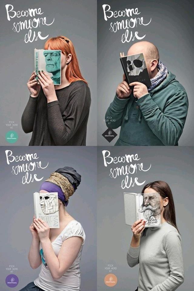 La lectura te convierte en alguien diferente!!!