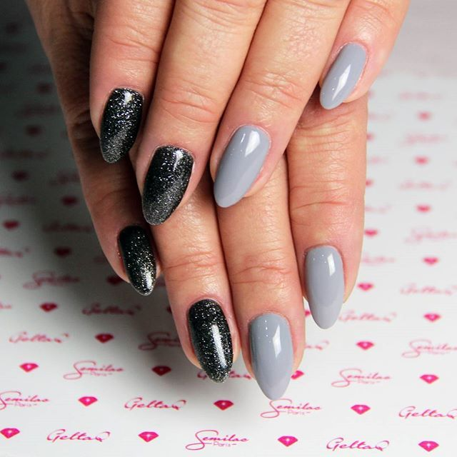 semilac 141 lady in grey z kolorem 096 starlight night