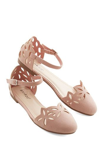 Pink flats (Size 7 1/2 or 8)