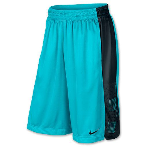 Men's Nike Elite Kentucky Basketball Shorts | FinishLine.com | Gamma Blue/Black