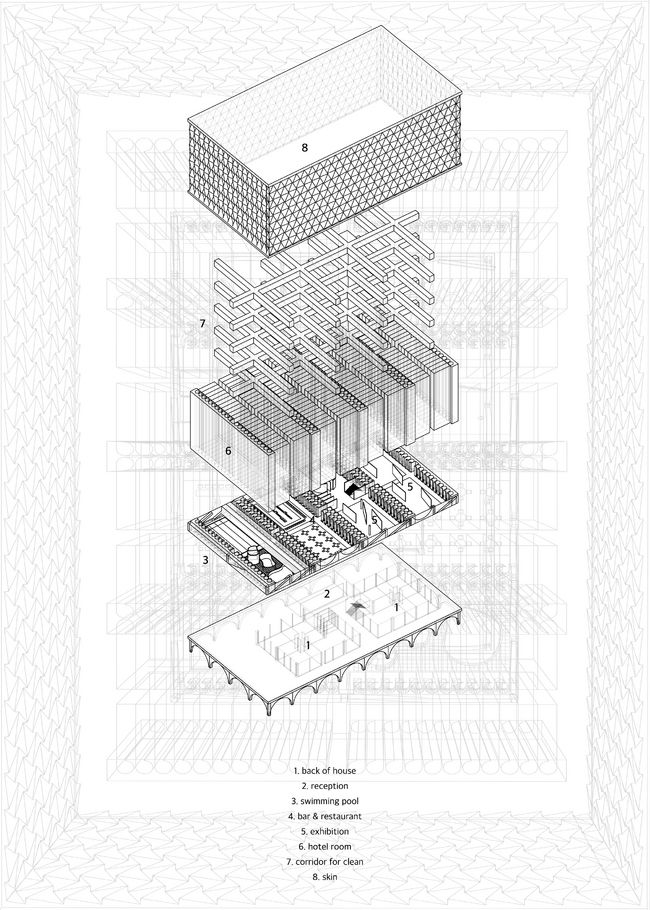 1000  images about archi graphics  3d  axonometric