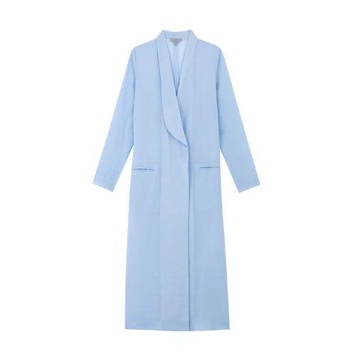 Hellblauer Mantel von COS