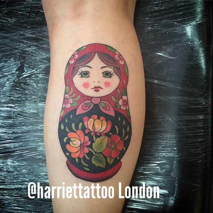 Russian doll tattoo matryoshka babushka