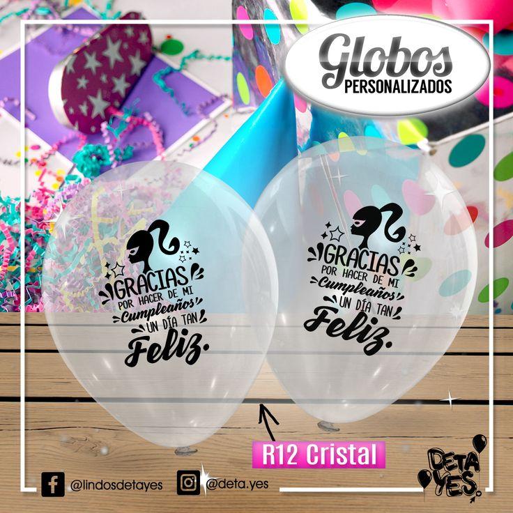 Globos Personalizados para Fiesta de Cumpleaños, Somos @deta_yes , Envíos a Toda Colombia, Pedidos 3185657519