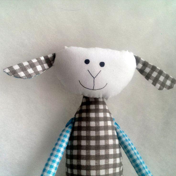Ovečka - sweet fabric sheep