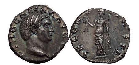 Ancient Coins - OTHO, Rome, 69 AD. Silver Denarius. Securitas. NGC AU. 4/5. 4/5.