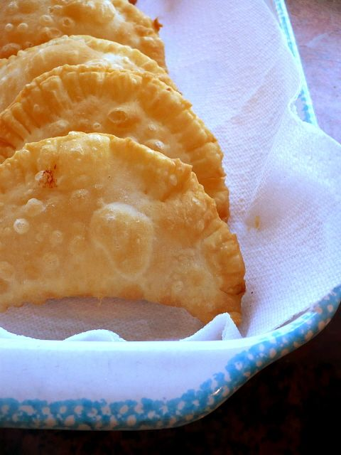 i want to make guava and cheese empanadas. this is a good recipe for empanada dough. where does one get that much lard!?