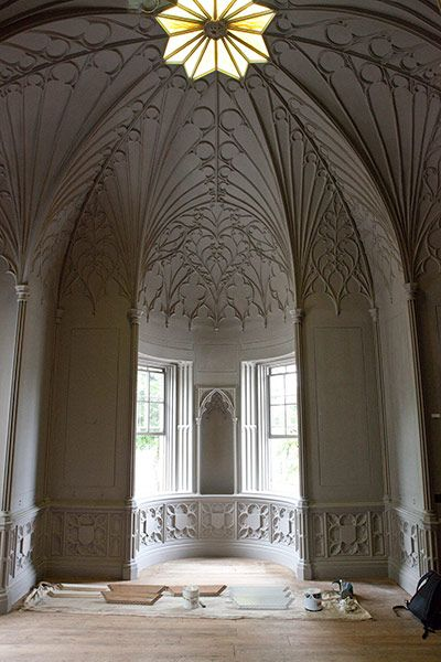Strawberry Hill: a House in the Gothic Revival Style. Photo by Andrew Urwin for The Guardian.