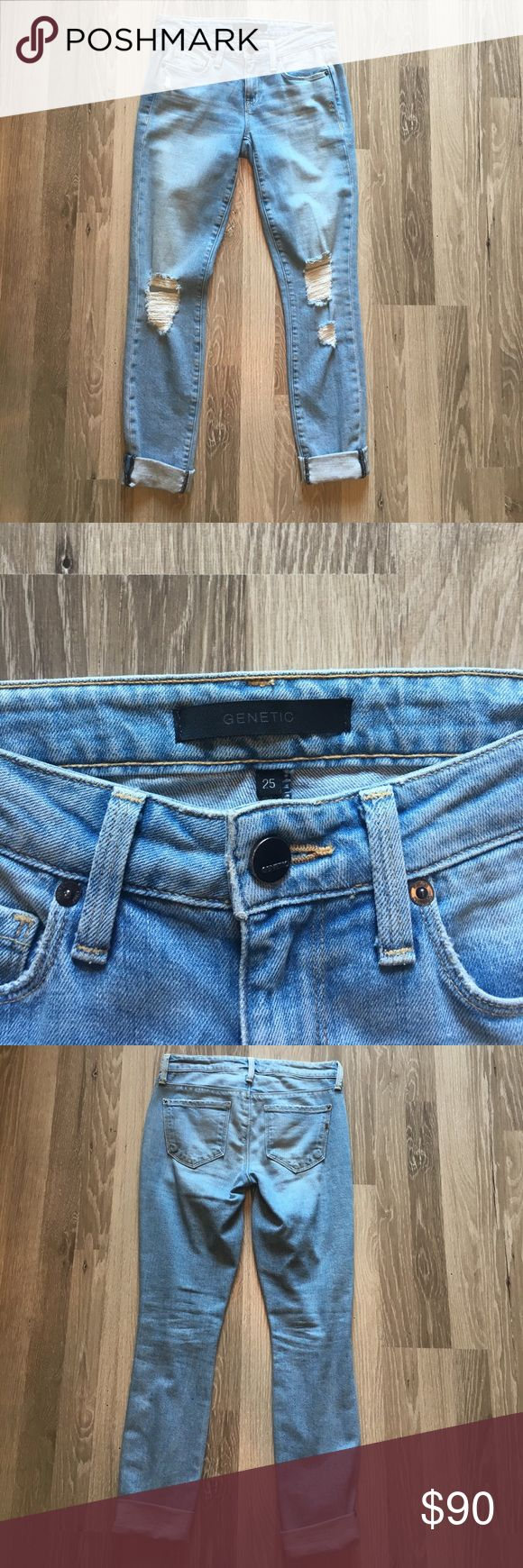 Genetic Denim Shya Jeans size 25 Genetic jeans size 25, only worn a few times, in excellent condition. No stains! These are great pants, just too big on me unfortunately! Genetic Denim Pants Skinny