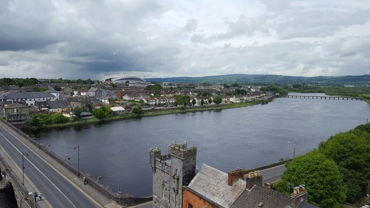 Limerick, Ireland. Picture from King John's castle. 05/2016