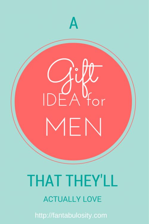 She gives a quick video telling what a great gift idea for men is, when you're not sure you know the person well!  Perfect gift idea for co-worker, or for a client! http://fantabulosity.com