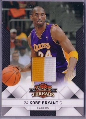 Kobe bryant 2009-10 #panini #threads 2 colors #prime patch 25/25 rare,  View more on the LINK: 	http://www.zeppy.io/product/gb/2/391684407098/