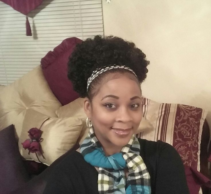 """Drawstring Puff from """"Tracie's Place"""" on YouTube - The Outre Synthetic """"Timeless"""" Afro Ponytail Review!"""