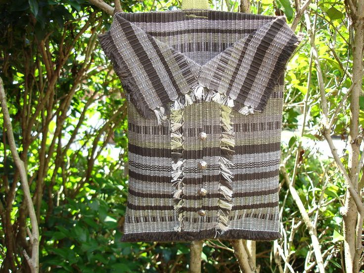 Designer Handcrafted Western Plaid Shirt Styled Saddle Bag W/ Swivel Attachment #UniquelyHandmade