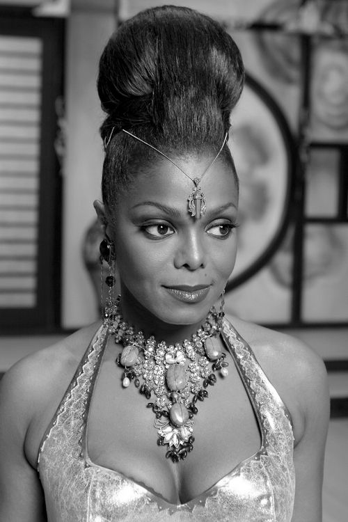 """Janet Jackson in music video for """"Call On Me"""""""